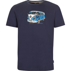 Elkline Gassenhauer T-Shirt Heren, blueshadow/vw